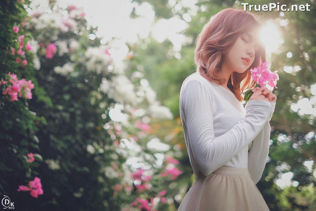 Image Vietnamese Beautiful Model - Bougainvillea Flowering Season - TruePic.net - Picture-11