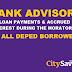 City Savings advisory on loan payments, accrued interest during moratorium