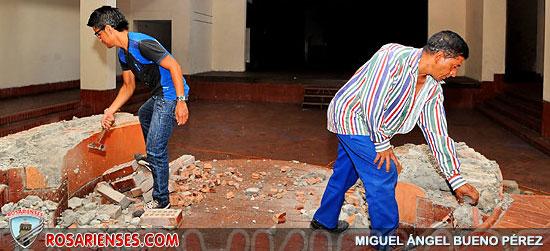 Deterioro y polvo tienen en crisis al Teatro Municipal Enrique Buenaventura | Rosarienses, Villa del Rosario