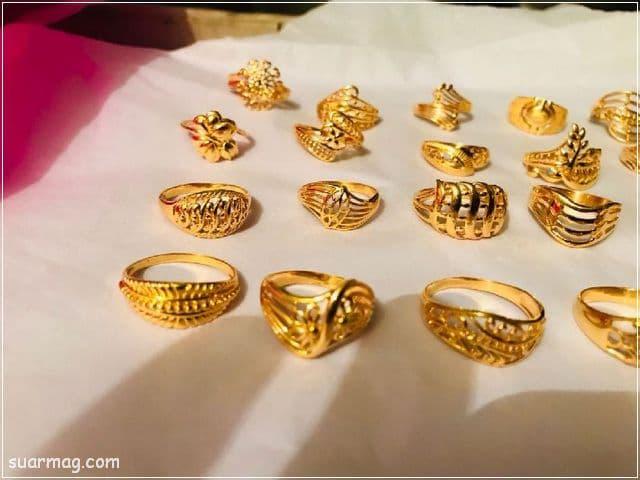 خواتم ذهب رقيقه جدا 11 | Simple gold rings 11