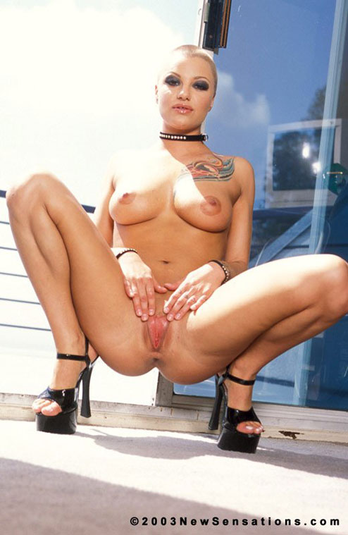 Speak this eva angelina shaved head nude