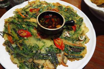 Kko Kko Nara, squid pancake