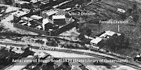 Aerial view of Brisbane's Boggo Road Gaol, 1929.