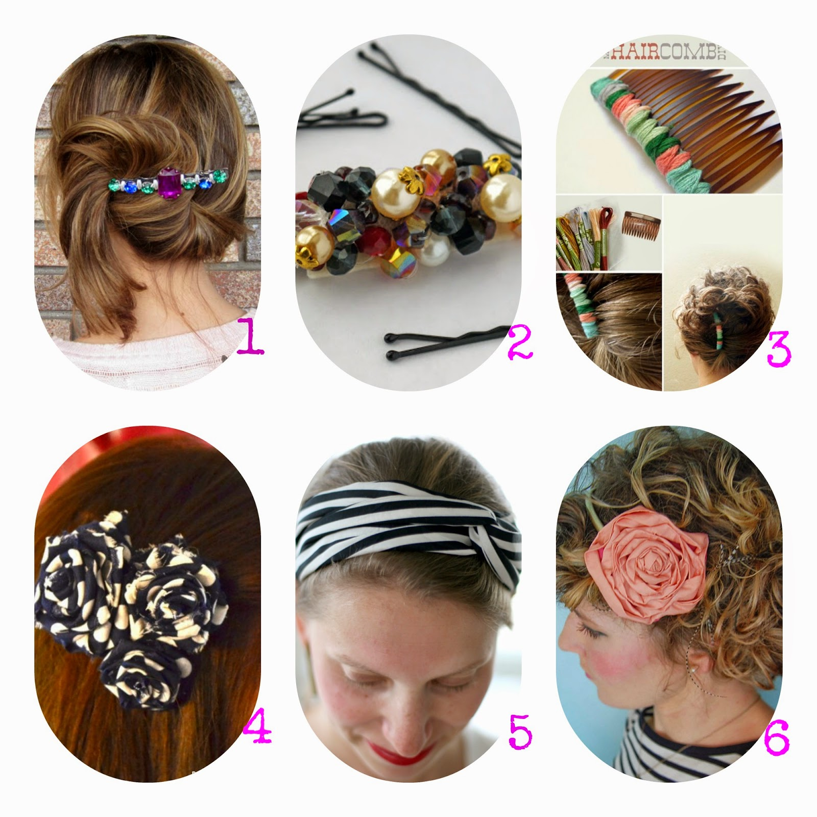 Moda fai da te accessori per capelli bellissimi tutorial for Accessori per la casa fai da te