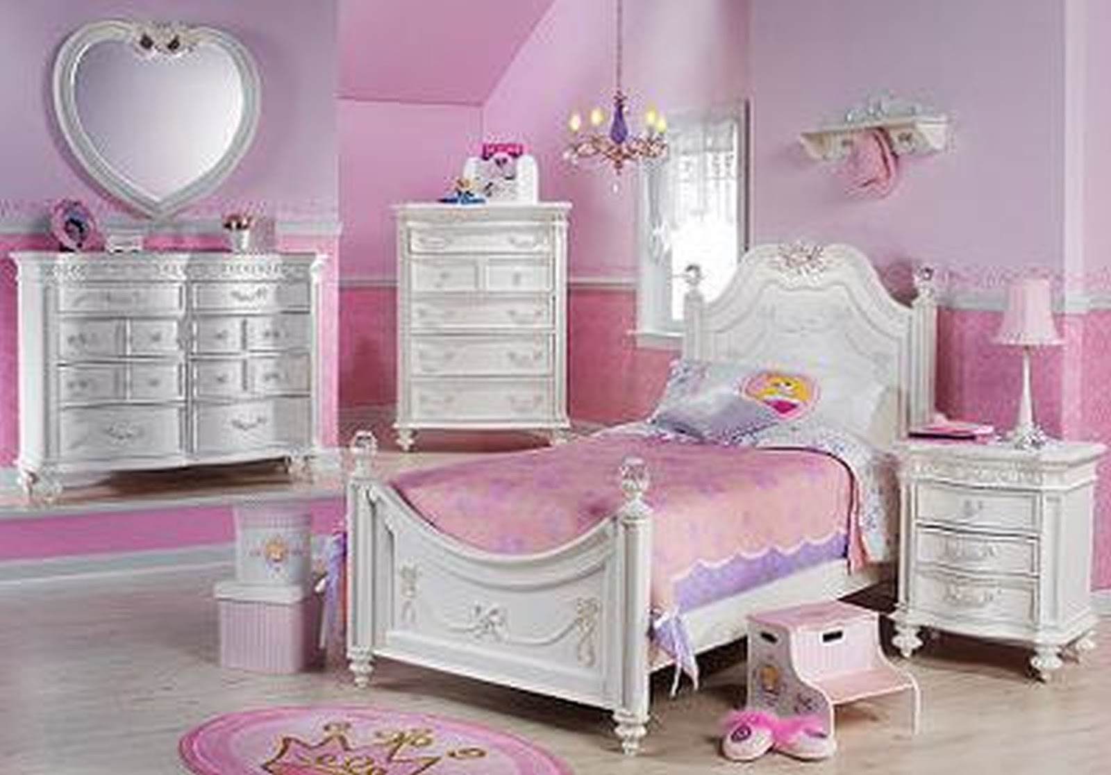 Pink bedrooms for little girls - Girl Bedroom Ideas Regarding Girls