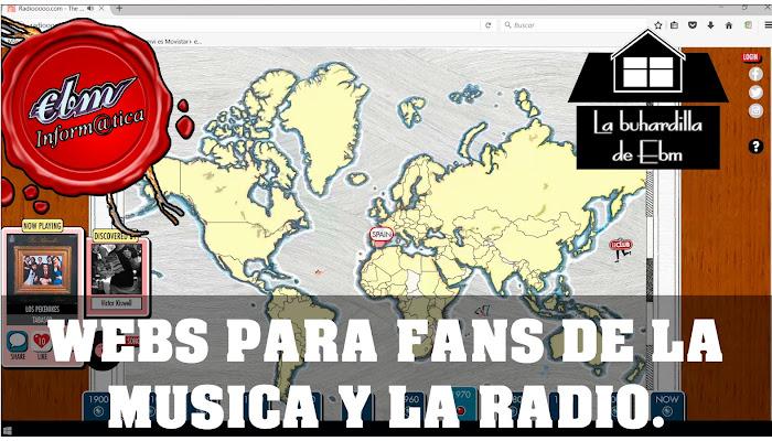 WEBS CURIOSAS PARA LOS AFICIONADOS A LA MUSICA Y RADIO