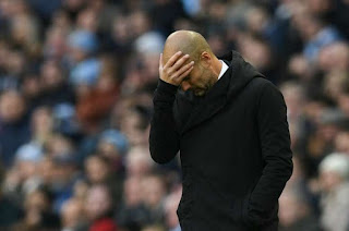 Pep Guardiola admits Manchester City failed to match Liverpool's desperation