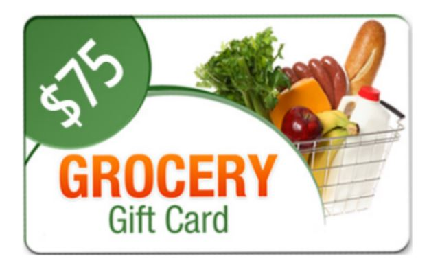 Get $75 Free Grocery Gift Card ( Offor Only For United States )