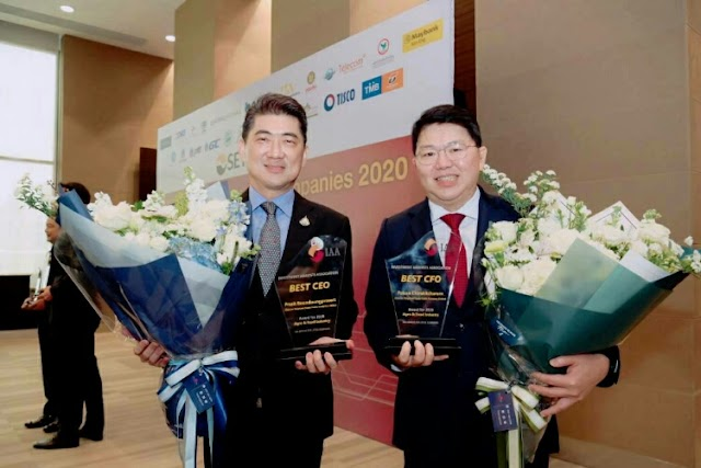 CPF receives two IAA Awards for Best CEO and CFO in Agriculture and Food sector