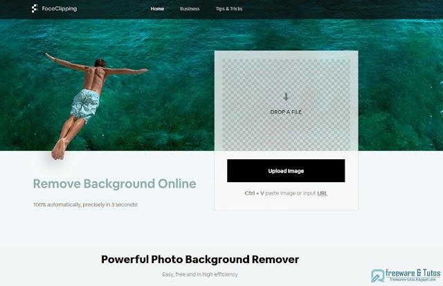 FocoClipping : un outil en ligne gatuit pour supprimer facilement l'arrière-plan d'une photo