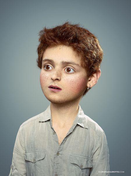 Hài hước bộ hình ảnh đẹp gương mặt trẻ thơ trên cơ thể trưởng thành