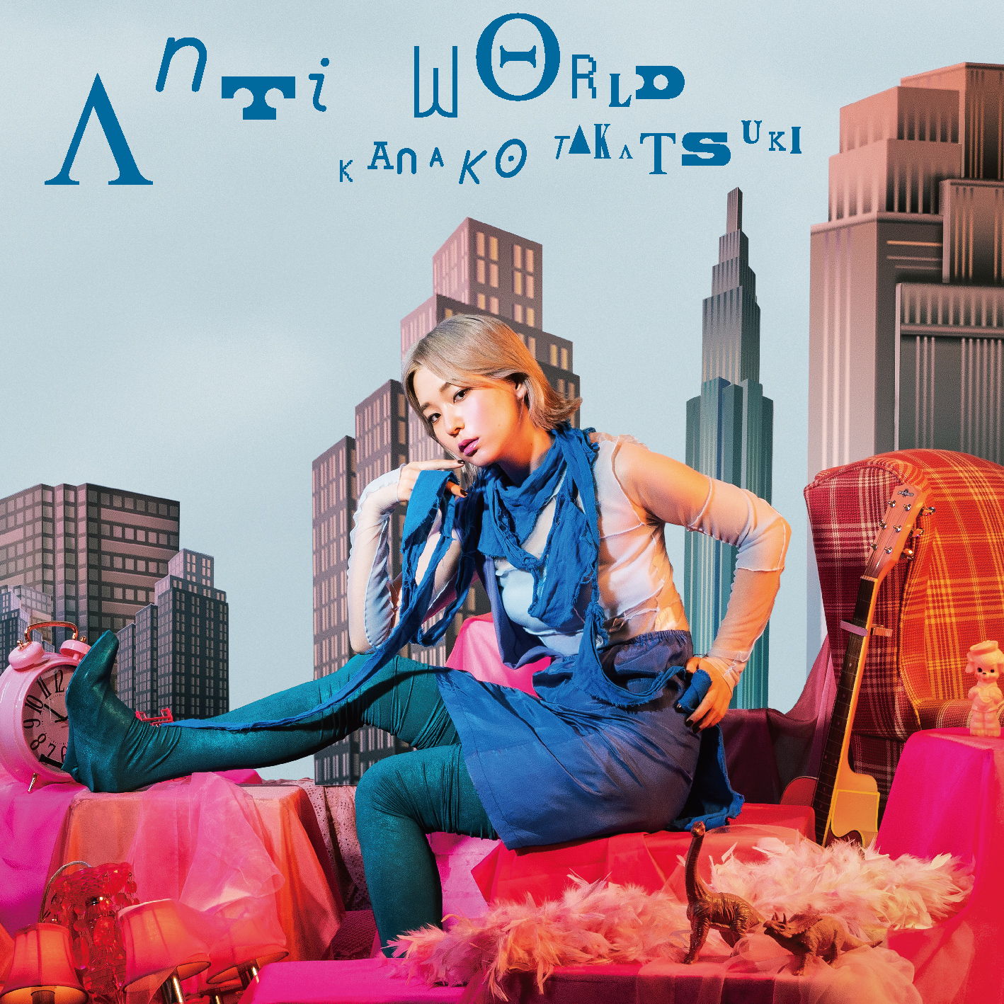 高槻かなこ - Anti world [2020.10.14+MP3+RAR]