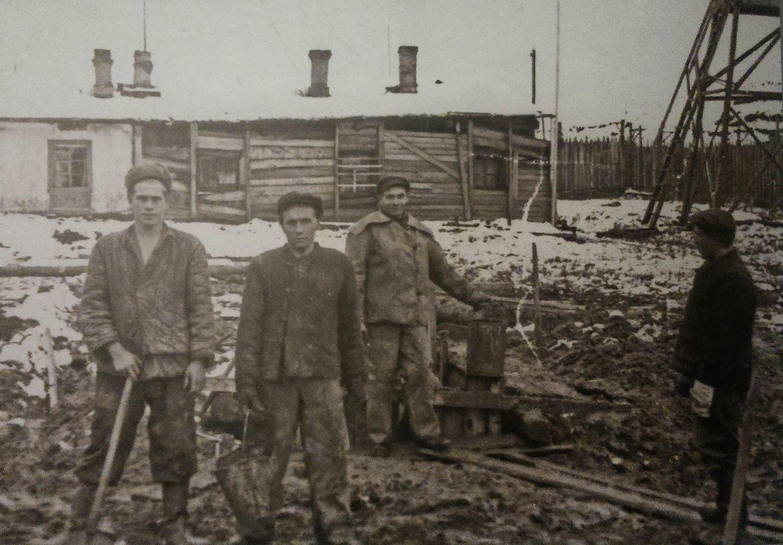 Polacy w łagrze w Workucie, 1956 r.