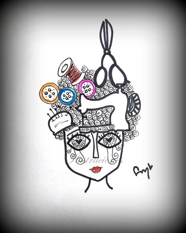 ilustraciones lola mento, lola mento, lolamento, lola mento cuadros, lola mento dibujos
