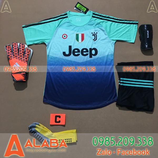 Áo Juventus 2020 Training 8 Màu Xanh Ngọc