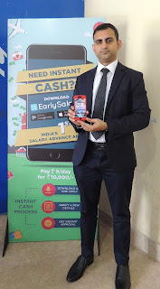 Akshay Mehrotra, Co-founder & CEO of EarlySalary at the launch in Jaipur