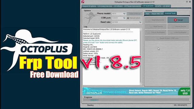 Octoplus FRP Tool v1.8.5 Latest Version Free Download