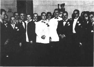 Edmundo Rivero con Troilo y Aldo Calderon en el Tibidabo(1949)