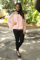 Rakul Preet Singh in lovely Pink Crop Top and Black Trousers at Jaya Janaki Nayaka success meet 073.JPG