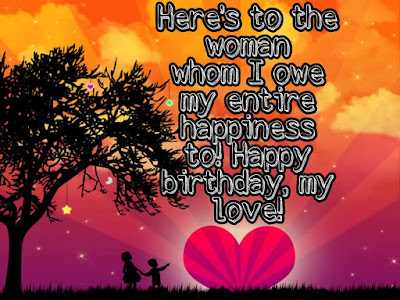 Birthday wishes to girlfriend