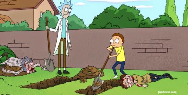 Resultado de imagem para Rick and Morty existencialismo