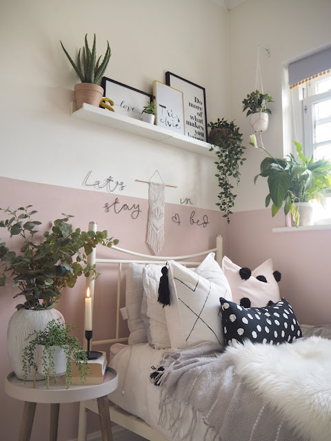 How to turn your bedroom into a wellbeing haven, ways to create somewhere thats a catharsis after a long day, helps you to relax and get a better nights sleep.