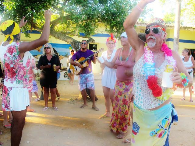 Carnaval nas Dunas de Itaúnas, no Espírito Santo.