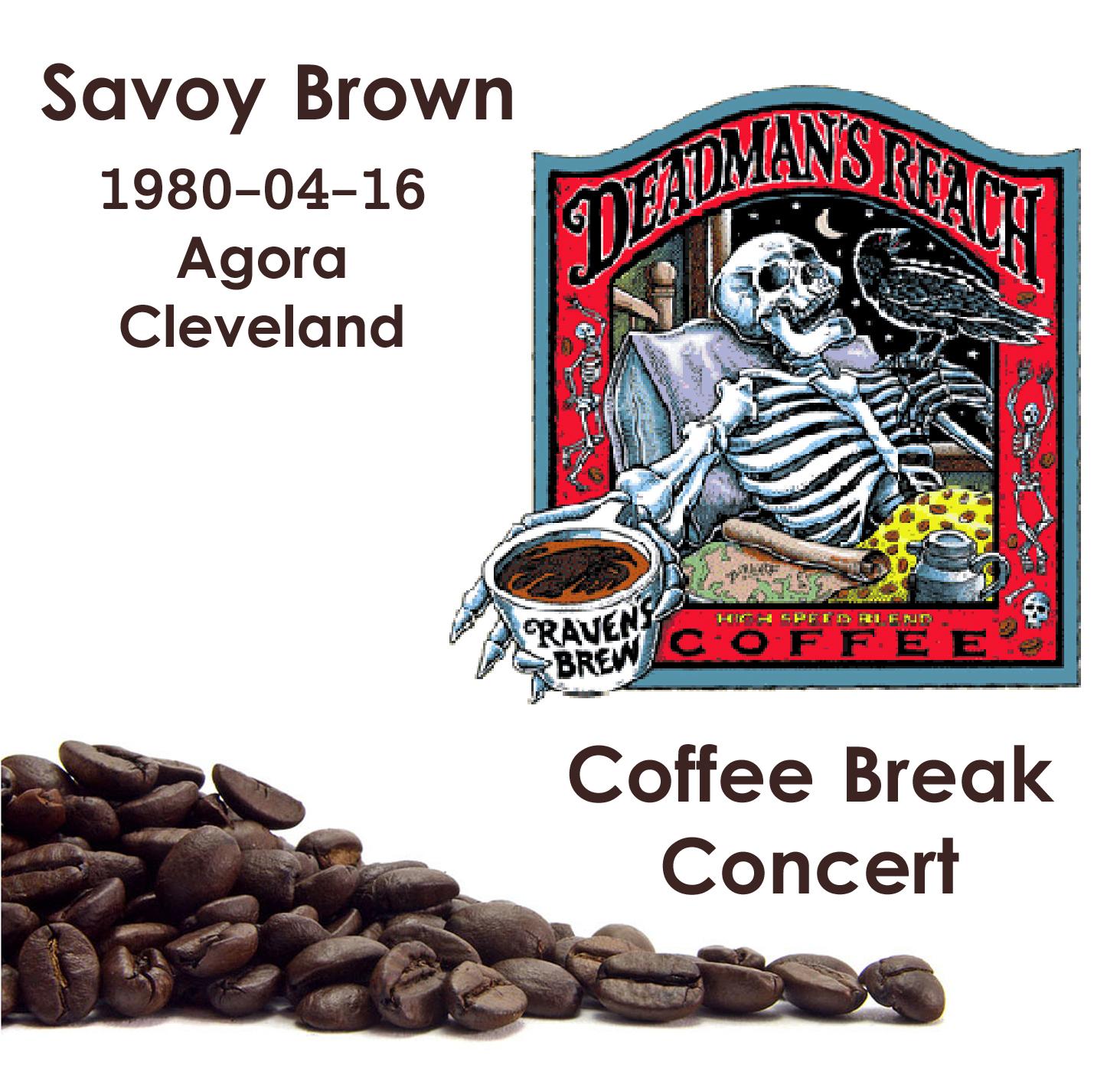 CastelarBlues: CD - Savoy Brown - Coffee Break Concert,The