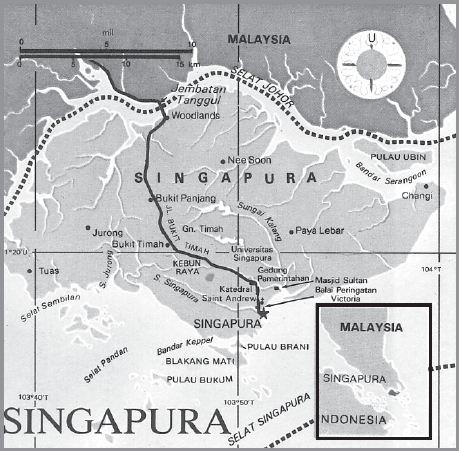 Letak Geografis dan Astronomis Singapura, Iklim, Bentang Alam, Bentuk Pemerintahan, Keadaan Ekonomi Soasial Budaya serta Luas dan Batas Wilayah Negara Singapura