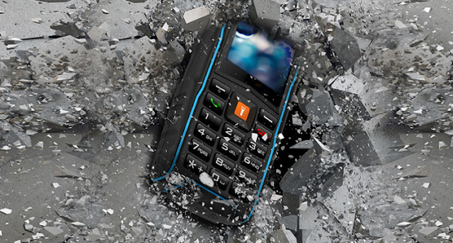 Tactical Rugged phone