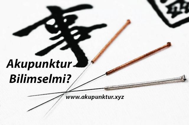 Akupunktur Bilimselmi?