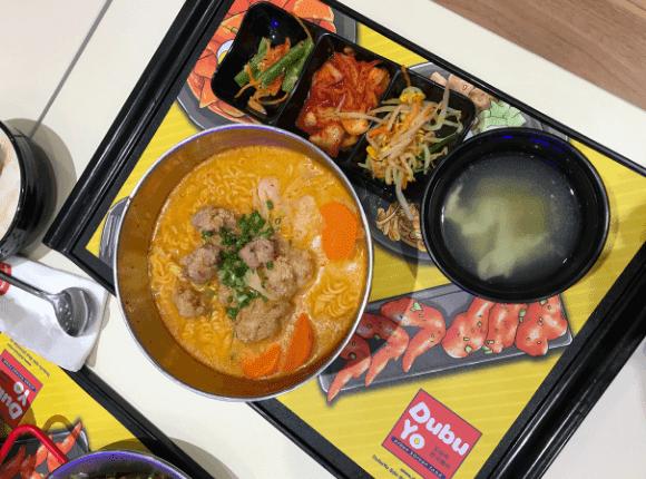 Korean food di Dubuyo
