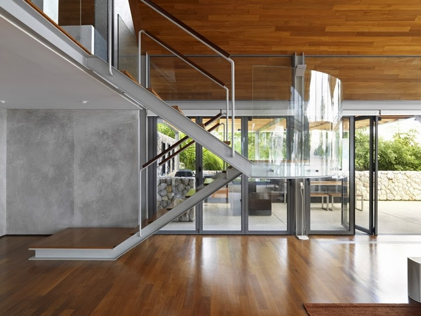 World of Architecture: Villa With Contemporary Asian ...