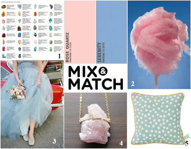 Mix&Match: colores Pantone 2016 (febrero 2016);