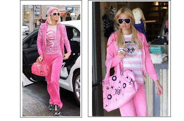 look rosa anos 2000