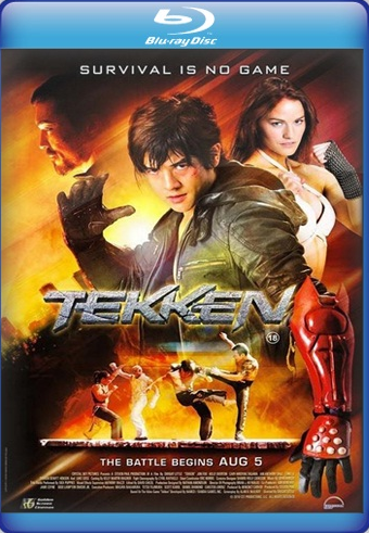 Tekken 2010 Dual Audio 720p BRRip 800mb