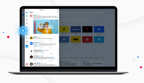 Twitter now fully Integrated into Opera desktop browser