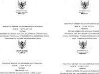 Peraturan Menteri Keuangan Nomor 52 53 54 55 56 Tahun 2018