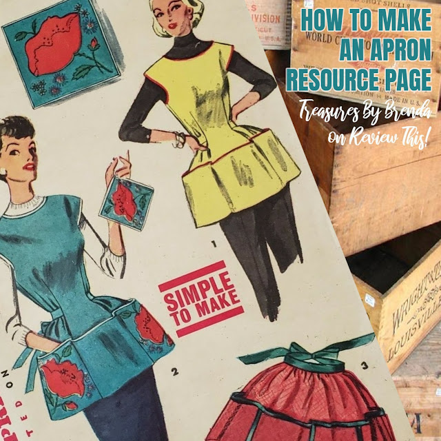 A page full of ideas of aprons to craft. If you love aprons and sewing, you will be inspired, for sure!