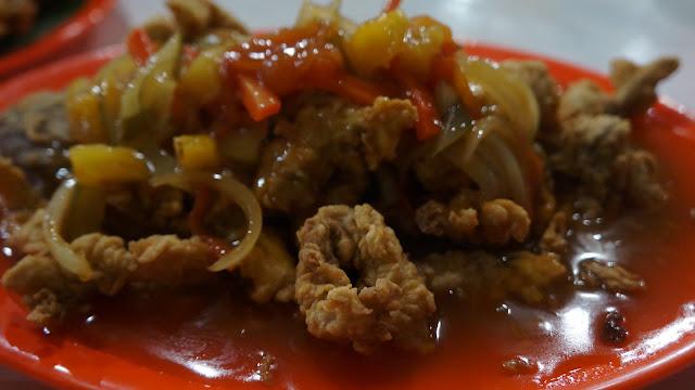 Bawal Asam Manis Serayu Seafood Pontianak