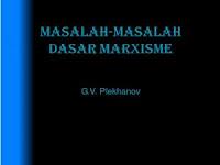 Ebook Masalah-Masalah Dasar Marxisme Karya G.V. Plekhanov