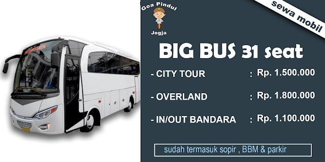 rental bus wisata jogja