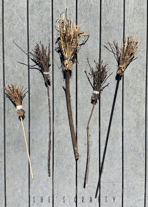 How to make FREE twig brooms