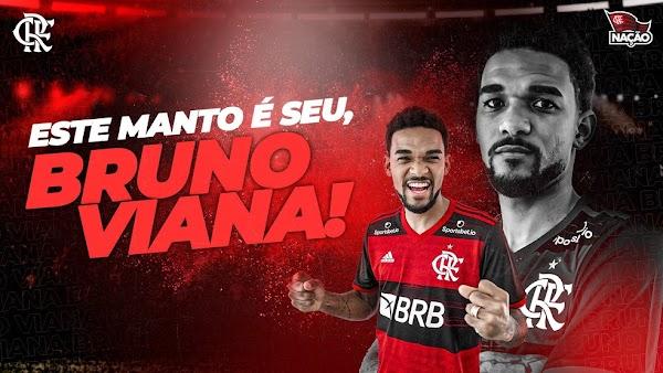 Oficial: Flamengo, llega cedido Bruno Viana