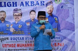 Wakil Bupati Batu Bara Hadiri Tabligh Akbar Di Mesjid Jami' Petatal