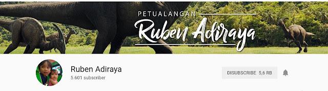 channel youtube ruben adiraya viral
