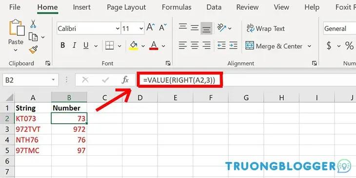 Hướng dẫn cách sử dụng hàm VALUE trên Excel cực đơn giản và dễ hiểu