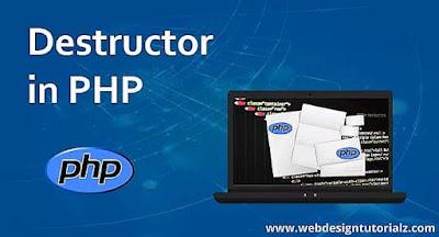 Destructor in PHP
