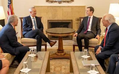 Kushner se encontra com líderes do Azul e Branco com vistas ao novo governo