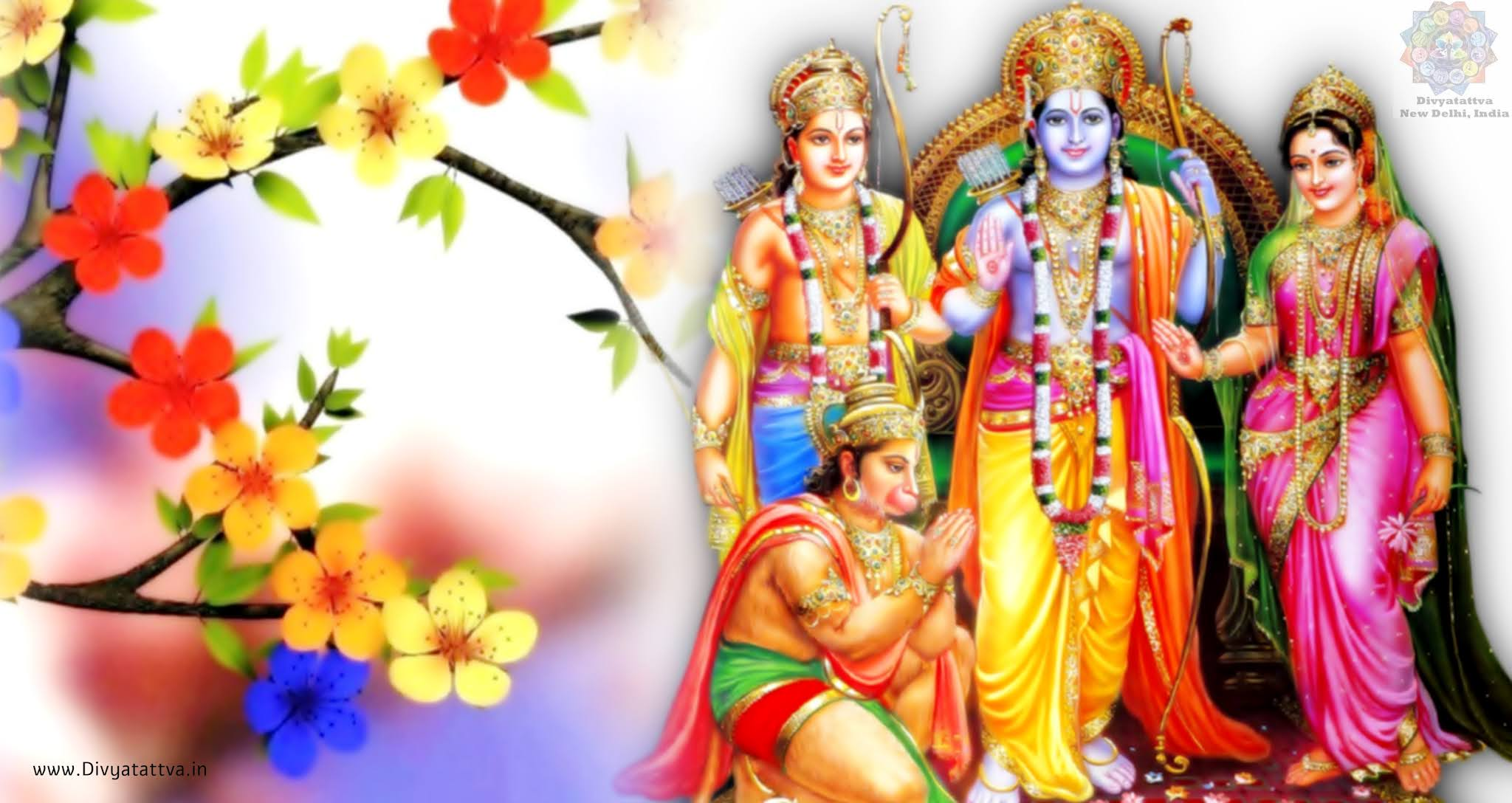 Beautiful Pictures of Lord Rama, Sita, Hanuman, Laxman or Rama Parivar Wallpapers